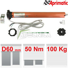 Motore per tapparella elettrica 50Nm 100Kg Aprimatic Shadow 43303/001 + accessor