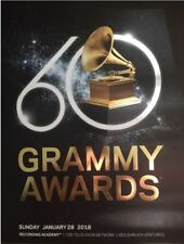 2018 Grammy Awards Official Program Music Memorabilia Beyonce Adele 2018 Winners