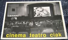 Advertising Film Cinema Teatro Ciak Milan - unposted