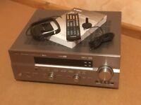 Yamaha RX-V750 Dolby Digital DTS 7.1 Heimkino Receiver in silber mit FB, Manual