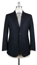 New $3600 Stile Latino Navy Blue Super 100's Suit - 42/52 - (VAULUCA30B0B40)