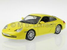 Porsche 911 996 Carrera 4 2001 yellow diecast model car KDW 1/43