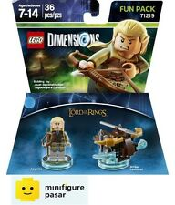 Lego Dimensions 71219 Fun Pack - The Lord of the Rings Legolas - New MISB