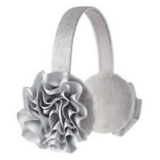 Girl's Cute Flower Earmuff Soft Headband Cherokee 46485 One Size Silver toddler
