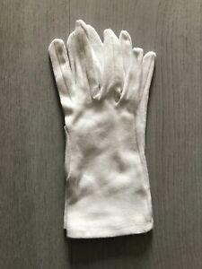 1 Paire Gants blanc Singer en coton Usage général santé Travail Taille 7-8-9-10