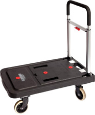 Magna Cart Flatform 300 lb Capacity Four Wheel Folding Platform Truck, New
