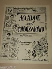 *31=ACCADE AL COMMISSARIATO FILM ALBERTO SORDI=PUBBLICITA'=ADVERTISING=