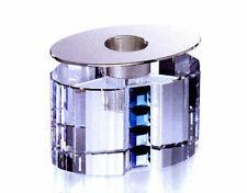 Swarovski Crystal Rainbow Candleholder Blue Zircon Sapphire BNIB 276704