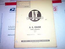 400 401 402 403 410 411 412 413 420 425 Vintage Case I&T Shop Service Manual
