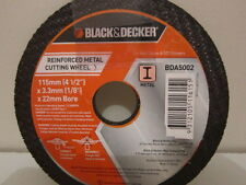 """5 x QUALITY METAL CUTTING DISC. 41/2"""" - 115mm - X 3mm THICK."""