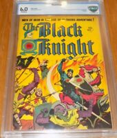 Black Knight 1 CBCS 6.0 1st appearance Black Knight _ 1953 - 1955 _ Eternals