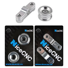 NiceCNC Front & Rear Solid Billet Shifter Bushing Kit For Acura Honda Civic CRX