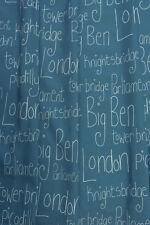 Rasch Textil 829524 BAMBINO XVII Tapicería para autocosido Londres Script