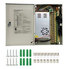 18CH Ports Channel DC 12V 30A Distribution Box Power Supply CCTV Security Camera