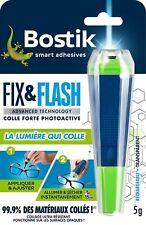 Colle Réparation BOSTIK Fix & Flash (Colle Photoactive) Applicateur et Tube 5g