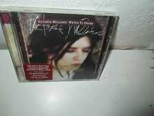 VICTORIA WILLIAMS - WATER TO DRINK rare Folk Music Promo cd 12 songs 1990s