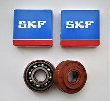 SKF Original Crankshaft Bearings + Oil Seals Husqvarna 340 345 350 503932302