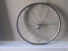 Front wheel with EDR Titanium front hub and Mavic M261 Ceramic rim. MTB 26 inch.