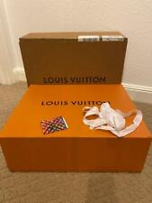 Nw Authentic Louis Vuitton Empty Huge Purse Dress Gift Box Ribbon Card Free Ship