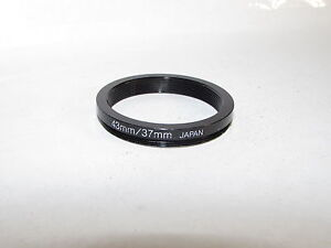 Step UDown for lens filter Adapter Ring 43 - 37 from 43mm to 37mm O40614