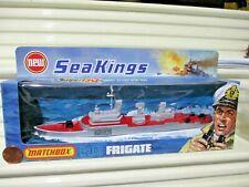 Rare Lesney Matchbox 1975 SEA KINGS K-301 FRIGATE Ship New Mint Boxed