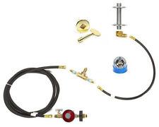EasyFirePits CK+ Kit; Deluxe DIY Build Your Own Propane Fire Pit Kit less burner