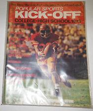 Popular Sports Kick-Off Magazine Darrell Royal College Previews 1973 092214R