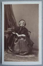 Photo Albuminé Par Disdéri Carte de Visite Cdv Vers 1860