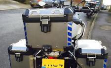 Azul Reflectante 4 parte de seguridad cheurones para adaptarse a Bmw R1200GS Adventure Pegatinas