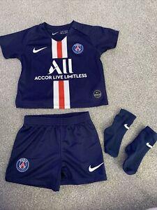 Paris Saint Germain Baby Football Kit 9–12 Months