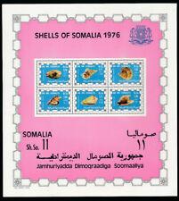 SOMALIA 1976 SHELL MINIFOGLIO MNH -- RB20