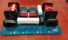 2 way (Double woofer) passive crossover 2200Hz  500W max. Read description.