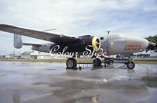 B-25 Mitchell N2825B 'The Avirex Express' 4.94, Colour Slide, Aviation Aircraft