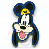 Disney Pin 47370 Rare Golden Mickey Mouse Ear Gold Ears Mystery Goofy LE 1000 #