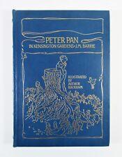 """Peter Pan in Kensington Gardens"" J. M. Barrie Arthur Rackham 1992 Leather Bound"