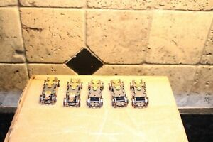LOT OF 5 COMPLETE RUNNING NOS TJET CHASSIS. 2 LIGHTED 1 WILDONES NEVER USED