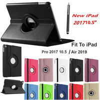 "Case 360 Rotation PU Leather Swivel Stand Cover for iPad Air 3rd Gen 10.5"" 2019"