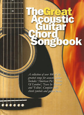 100 POP & ROCK SONGS FOR ACOUSTIC GUITAR Sheet Music Book Songbook Chart Hits