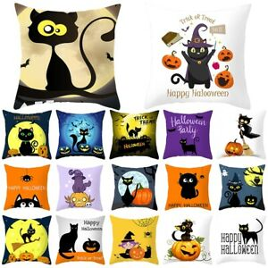 Halloween Pumpkin Decorative Cushions For Sale Ebay
