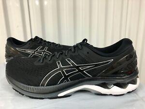 Mens Asics Gel Kayano 27 $160 Black Pur Silver 3M 10.5 1011A767 001 Running Shoe