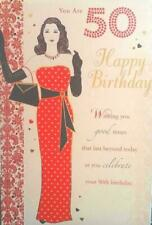 Xpress Yourself Special Age 50th Birthday Sentimental Verse 50 Today Card