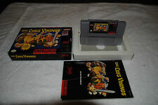 LOST VIKINGS SNES SUPER NINTENDO GAME COMPLETE IN BOX GOOD CONDITION
