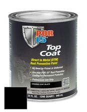 POR-15 45904 Top Coat Chassis Black (Quart)