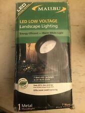 New listing Malibu Led Low Voltage Landscape Garden Light 7watt Metal Floodlight Black