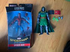 marvel legends lot spiderman AND DR DOOM