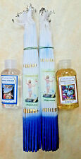 2 33 Candles,holy water,Anointing Oil Blessed from Holy Sepulchre Jerusalem 50ml