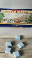 Parker Advance To Marble Arch Board Game Replacement 5 Grey Hotel Tiles Spare