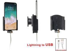 Brodit KFZ Halter 514997 mit Steckervorbereitung für Apple iPhone X / Xs