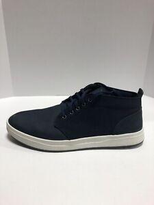Timberland Davis Square Mens Chukka Boots Navy Leather 12W