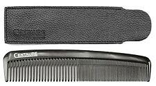 Peigne de poche avec étui cheveux, barbe, coiffage homme, moustache